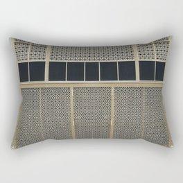 The Wall pattern Rectangular Pillow