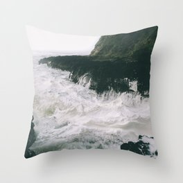 Milky. Throw Pillow