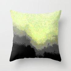 Falling Moon Throw Pillow
