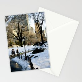 A walk in Central Park  Stationery Cards