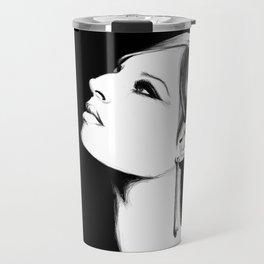 Barbra Streisand  Travel Mug