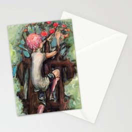 Guniper Is Trapped Stationery Cards