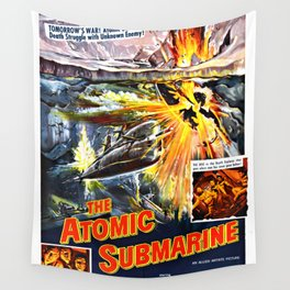 The Atomic Submarine Wall Tapestry