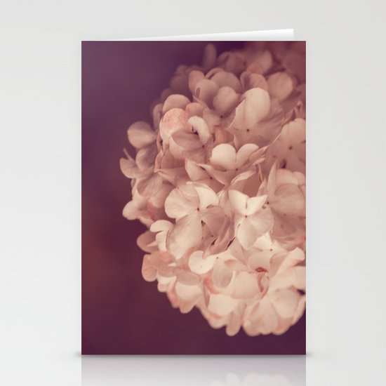 the white ball Stationery Cards