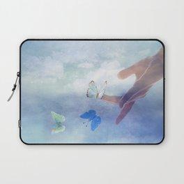 Butterfly Whisperer Laptop Sleeve