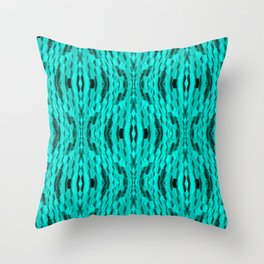 In the Mighty Sea.... Throw Pillow