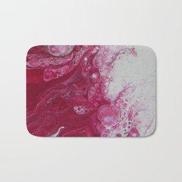 Tentacles, abstract acrylic fluid painting Bath Mat