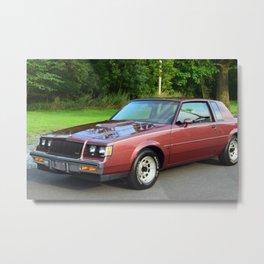 Rare 1987 GM Rose colored Grand National Regal T-Type Turbo Metal Print