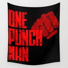 One punch man Wall Tapestry