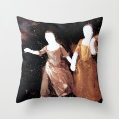 Brutalized Gainsborough 3 Throw Pillow