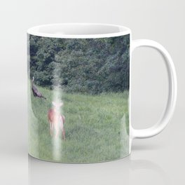 2 Deer and a Turkey Coffee Mug