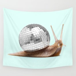 DISCO SNAIL Wall Tapestry