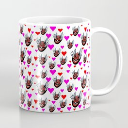 Sneaky Cat Face Coffee Mug