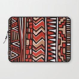 Aztec lino print Laptop Sleeve