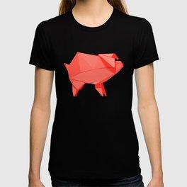 Origami Pig T-shirt