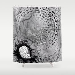 Fragmented Fractal Memories and Shattered Glass Shower Curtain