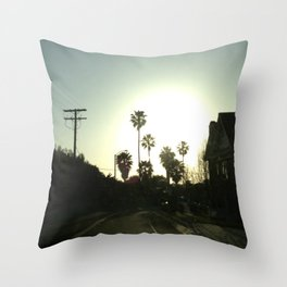 #1 Throw Pillow