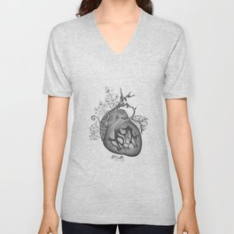 RADIOHEAD HEART Unisex V-Neck