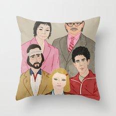 Royal Tenenbaums Throw Pillow