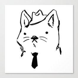 Cat Dad Canvas Print