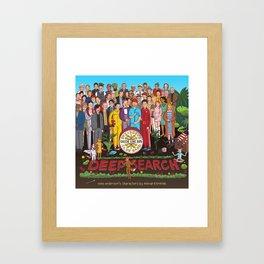 Wes Anderson's Sgt. Pepper Framed Art Print