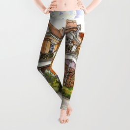 Stately Manor House Leggings