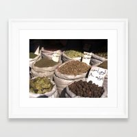 spice Framed Art Prints featuring Spice by Eric Pablo