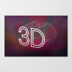 3D Canvas Print