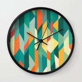 Broken Ocean Wall Clock