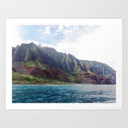 Kauai Shore Art Print