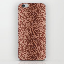 Celtic Warlord copper iPhone Skin