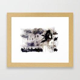 Miseria de los miserables (color version) Framed Art Print