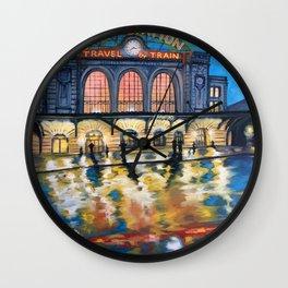 Denver's Union Station Wall Clock