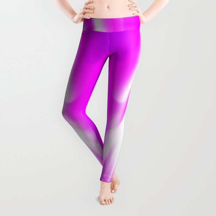 DREAM PATH (Purples, Fuchsias & White) Leggings