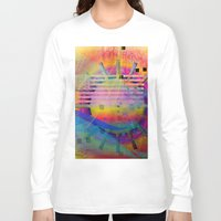 submarine Long Sleeve T-shirts featuring submarine by Kay Weber