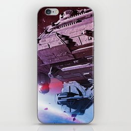 Better World Spaceship iPhone Skin