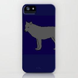 The Furtive Timberwolf iPhone Case