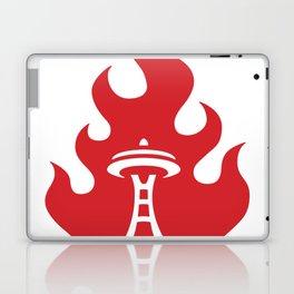 Seattle Riot   Flame Laptop & iPad Skin