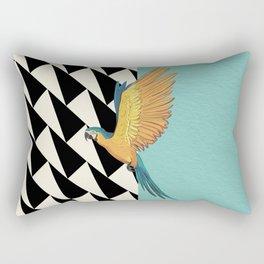 Parrot Pattern Rectangular Pillow