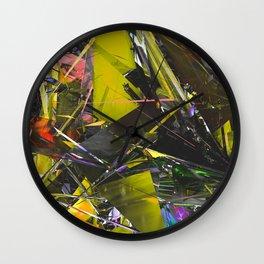 LUMI WavyLiner5OBJ 1 Wall Clock