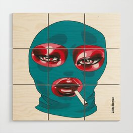 Gang Girl Wood Wall Art