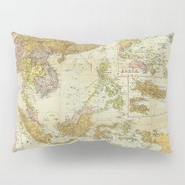 Map of Southeast Asia (1936) Pillow Sham