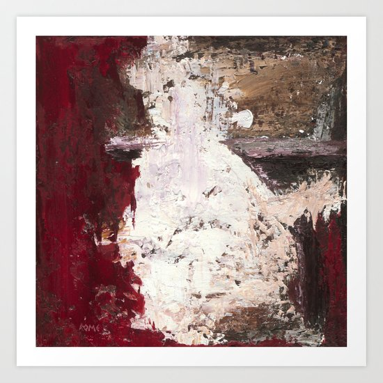 Outburst - painting Study Art Print