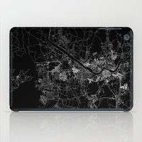 seoul iPad Cases featuring Seoul by Line Line Lines