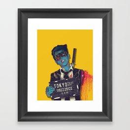 Crazy 88 Framed Art Print