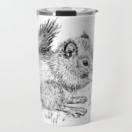 Baby Squirrel Travel Mug