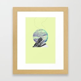 Streaming Framed Art Print