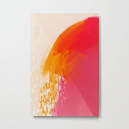 The Bright Abstract Waterfall Metal Print