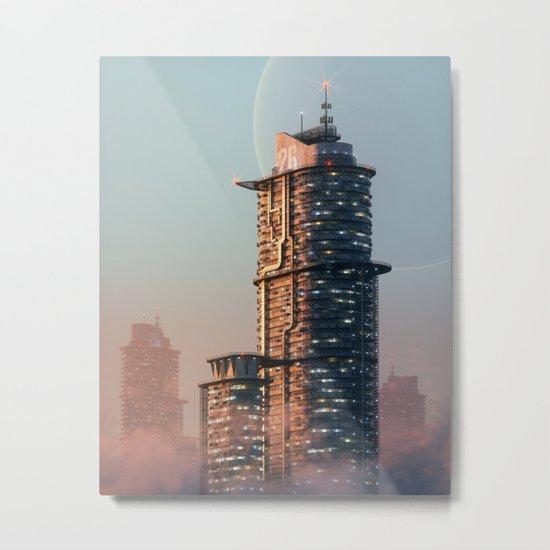 Subtowers Metal Print