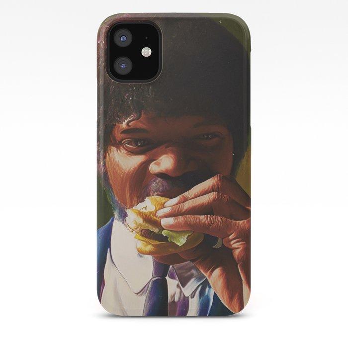 Pulp Fiction Burger iphone case